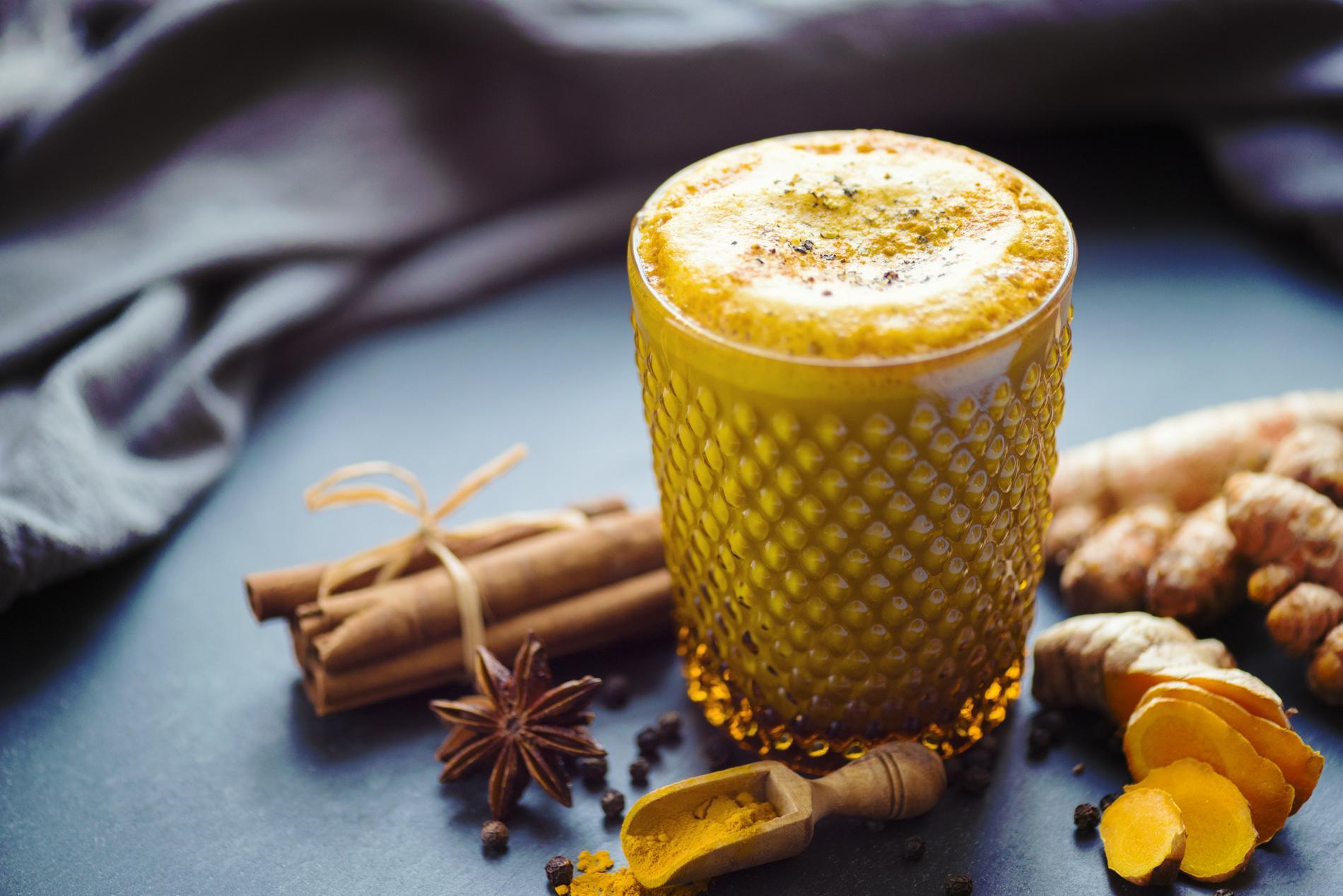 Golden Milk, Turmeric Latte, Golden Latte
